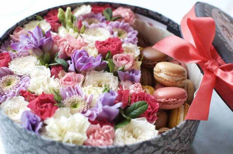 Цветы в Коробе Мытищи